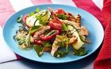 Grilled chicken salad with parmesan dressing – Taste.com.au